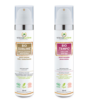DUO BEAUTÉ BIO TEMPO + BIO SUBLIME