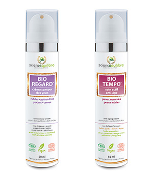 DUO BEAUTÉ BIO TEMPO + BIO REGARD